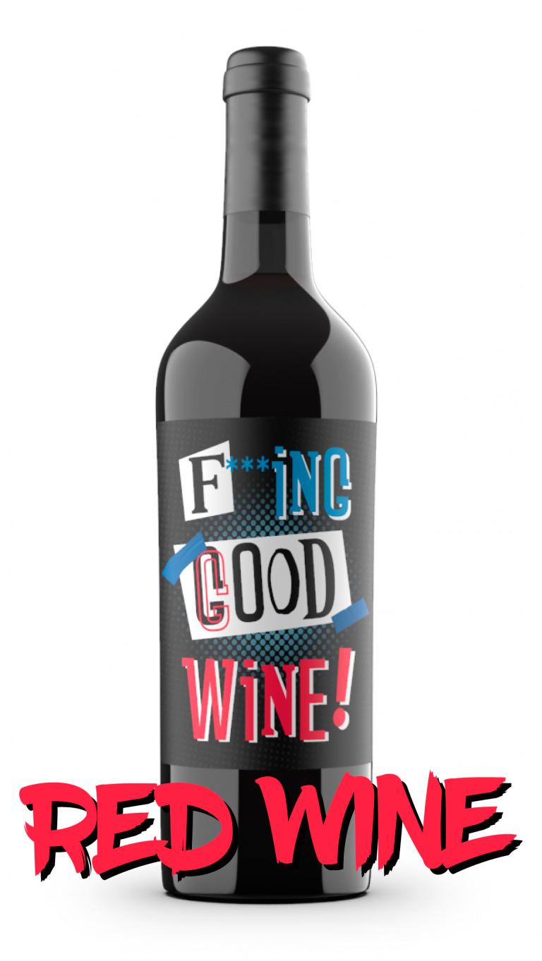 Spanish red wine FGW