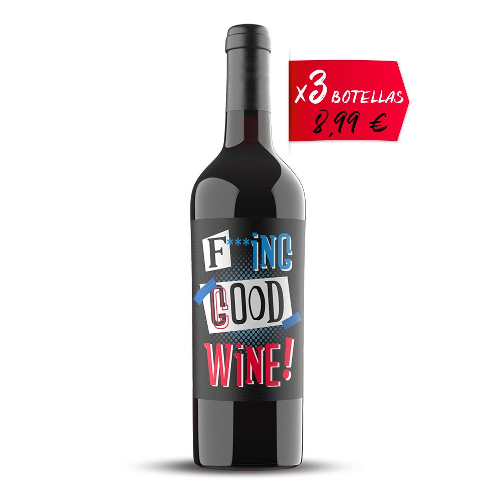 Vino Tinto Caja 3 botellas